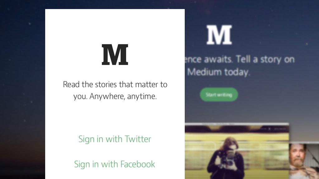 Medium App Screenshot