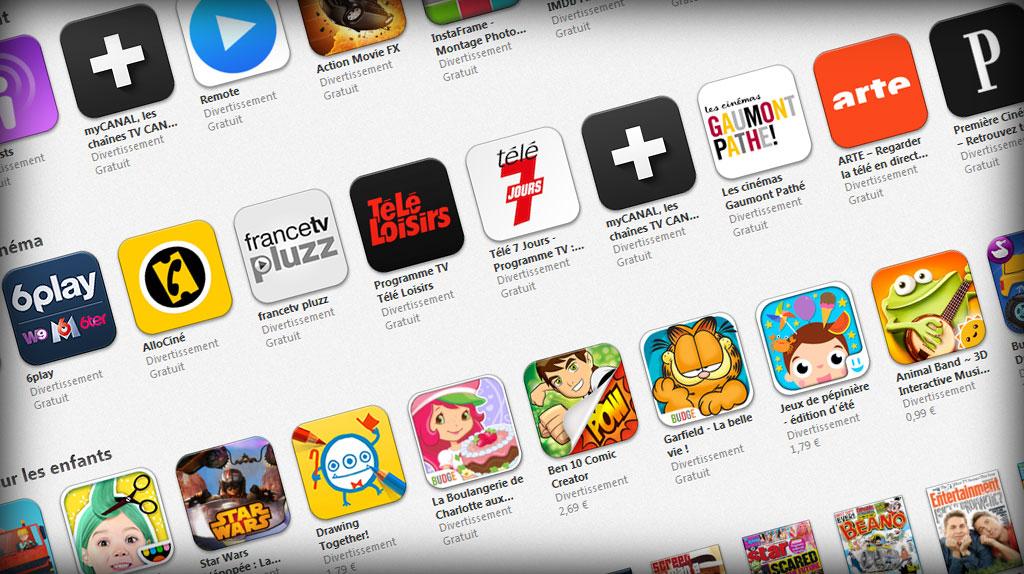App Store listing